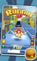 Casual android games:3D City Runner