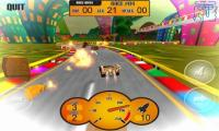 Android racing games:CrazyKartOON Free
