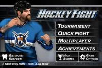 Android sports games:Hockey Fight Lite