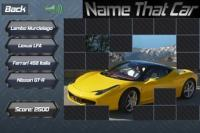Android quiz games:Name That Car