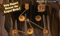 Android puzzle games:Rope Rescue Free