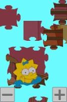Android puzzle games:Simpsons. Jigsaw Puzzle