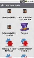 Game manuals:Wiki Poker Guide